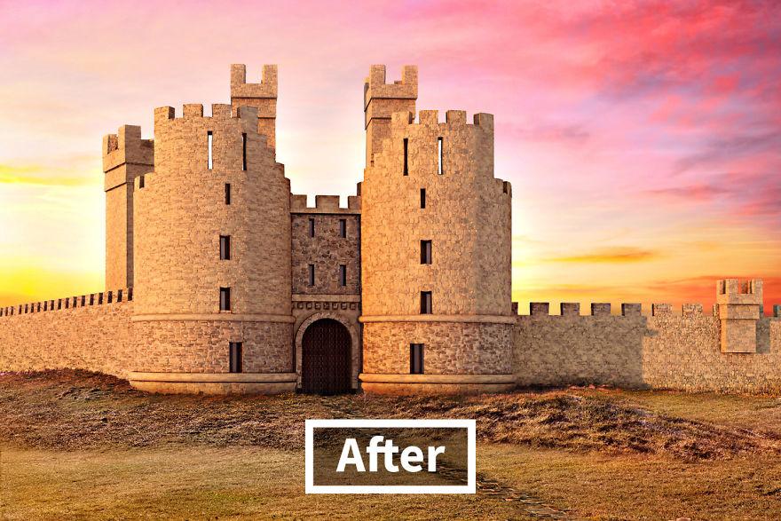 hrady kedysi
