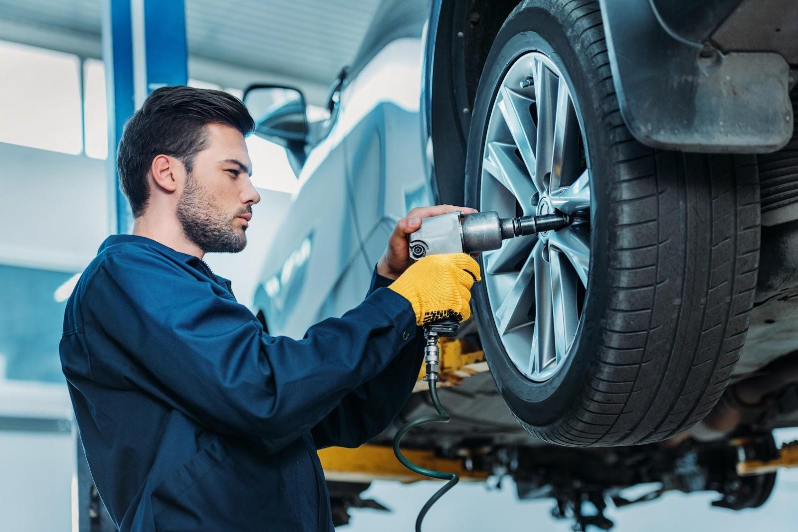 Výmena pneumatík v pneuservise
