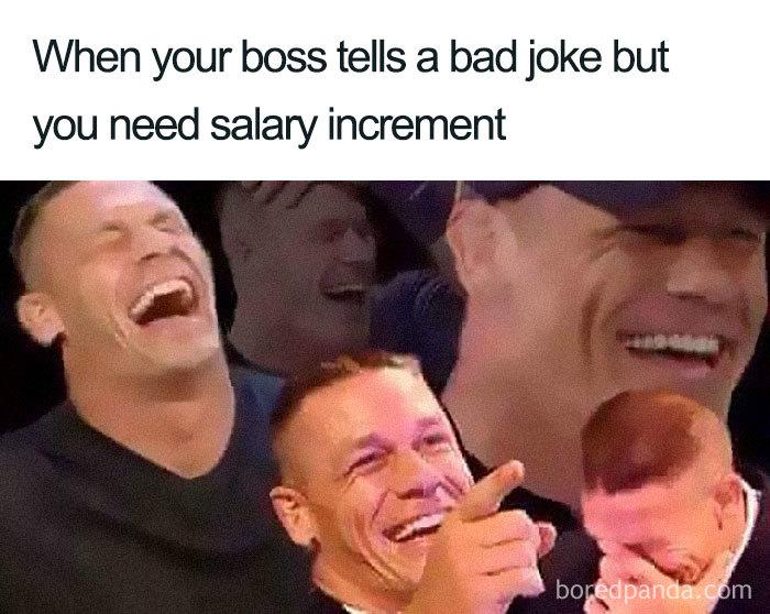meme o šéfoch