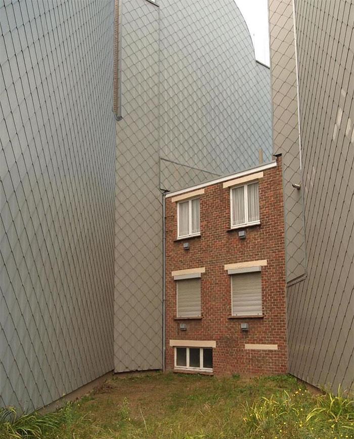 škaredé domy