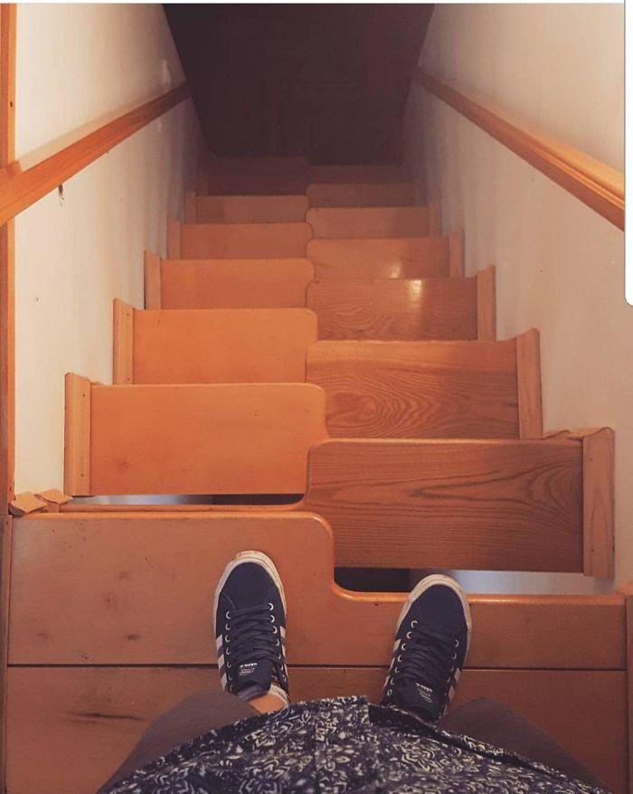 dizajnové faily schodov