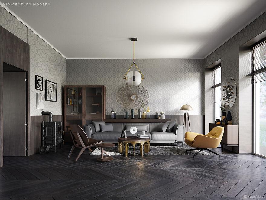 interiér domácností