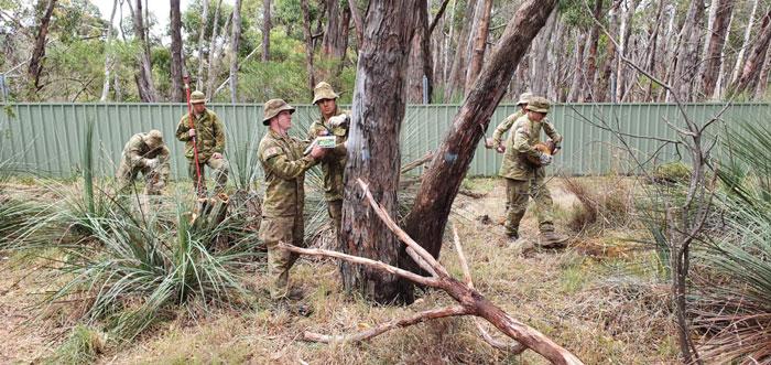 austrálski vojaci