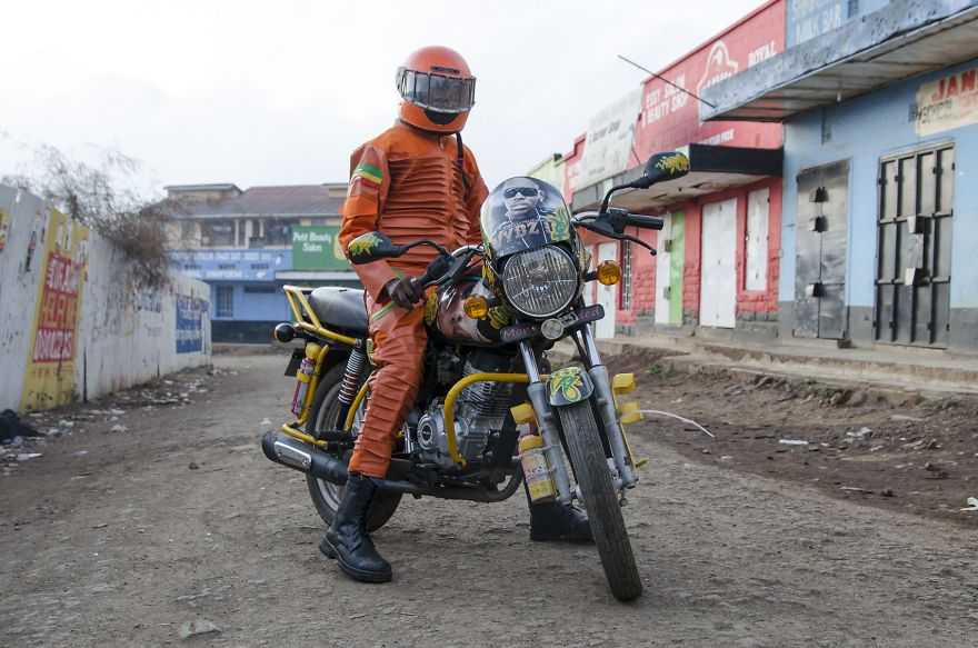 taxi motorka