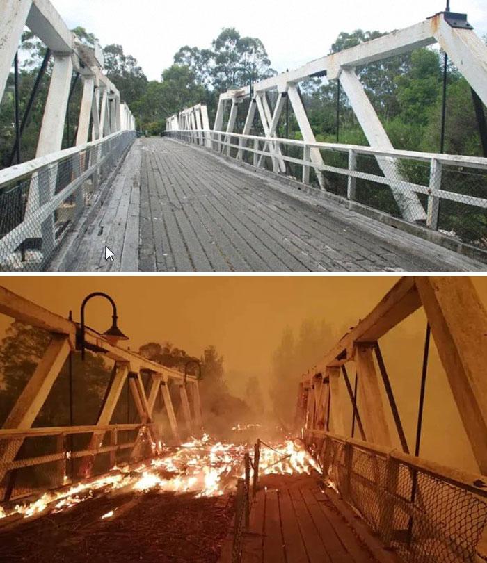 požiar v Austrálii
