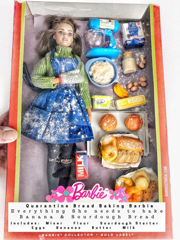 karanténna Barbie