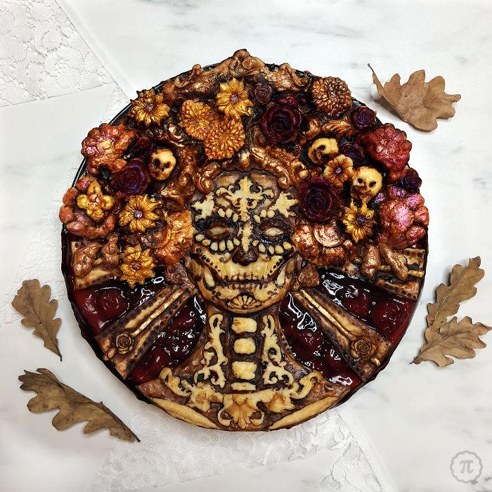strašidelné koláče